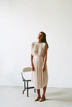 Ulla Johnson Lily Dress in Sand | Oroboro Store