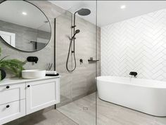 32 Best Shower Tile Ideas That Will Transform Your Bathroom - The Trending House Bathroom Renos, Bathroom Layout, Bathroom Interior Design, Bathroom Renovations, Modern Bathroom, Small Bathroom, Bathroom Ideas, Budget Bathroom, Master Bathroom