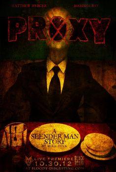 Slenderman film, 'Proxy', premieres tonight online - http://thefilmdiscussion.com/2012/10/30/slenderman-film-proxy-premieres-tonight-online/