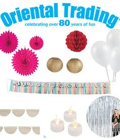 Cheap Wedding Decor items from Oriental Trading