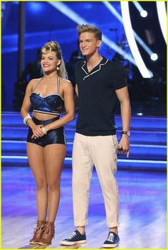 Cody Simpson and Witney Carson get judges feedback on #DWTS Week 3 (4/1/14)