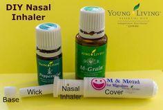 DIY: Young Living Essential Oils Nasal Inhaler