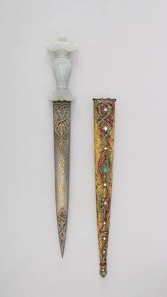 Dagger with Sheath, Turkish, 19th century