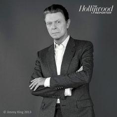 David Bowie by Jimmy King, 2013.