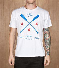 CXXVI Clothing Co. — The USA White
