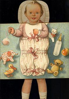 Kubašta V./ Kvěchová M. -- Malá Eva Popup, Vintage Paper, Illustrators, Buddha, Disney Characters, Fictional Characters, Heaven, Disney Princess, Artist