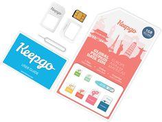 International Data SIM Kit-1GB- Pay-As-You-Go