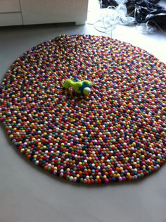 Oh my word. This is made entirely from those Felt balls from the craft section