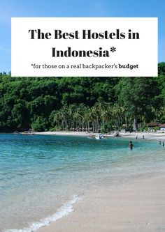Indonesia Travel Tips | Everywhere We've Stayed in Southeast Asia (A Hostel Guide for Backpackers on a Budget) | @tbproject