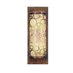 Avalon Palacial Bronze with Gilded Accents Two-Light Wall Sconce