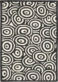 Image result for white rugs with black circles