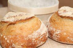 Boule | Poolish: 3 c. bread flour 1 1/4 c. water 1/2 t yeast | Boule: 3 c. bread flour 1 c. water 1/2 t. yeast 2 1/2 t. salt