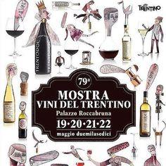 A @palroccabruna imperdibile #mostravinitrentino con #degustazione di #vini delle #cantine trentine