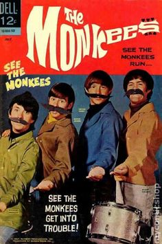 The Monkees had a Dell Comic ...