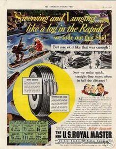 U.s. Royal Master Tires 1938