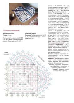 Crochet heart ♥️LCH-MRS♥️ with diagram.
