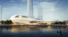 MAD architects' two new proposals for a futuristic museum  - San Francisco Proposal