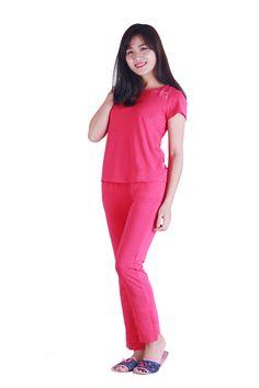 Bộ quần dài, áo cộc tay Sunfly Prime_SP1040