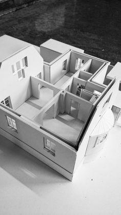 KRADS - krads.info / Concept / Model / Architectural model / KALKJÆRVEJ, Denmark Urban Planning, Building Design, Denmark, Toddler Bed, Concept, Architecture, Model, Child Bed, Arquitetura