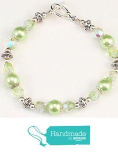 Czech Glass Beads, Beaded Bracelets, Amazon, Green, Handmade, Jewelry, Amazons, Hand Made, Jewlery