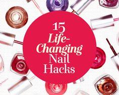 15 Life-Changing Nail Polish Hacks