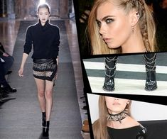 for 2013, no matter what you read, the punk fashion trend should be less about an overall theme and more about mixing punk elements with other seasonal trends (i.e.) something feminine with a punk-rock edge...