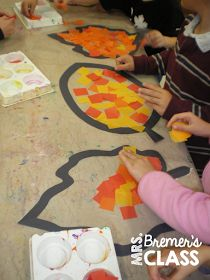 Fall art activity ideas for young kids- perfect for Kindergarten!