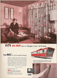 1000 images about vintage trailer ads on pinterest - How long do modular homes last ...