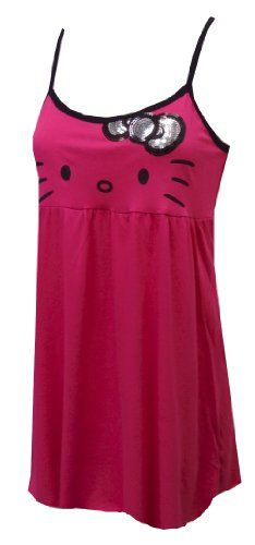 Hello Kitty Bring the Bling Babydoll Nightgown for women