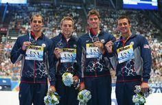 Ryan Lochte Photos - Swimming - 16th FINA World Championships: Day Fourteen - Zimbio