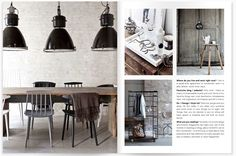 emmas designblogg - design and style from a scandinavian perspective: painted chairs around the kitchen table