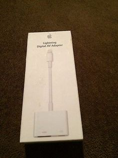 Genuine Apple Lightning to HDMI Cable Digital AV Adapter For Screen Mirroring