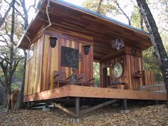 This is one of the nicest structures we have ever built. It is a bath house on a private retreat in the woods. The siding is redwood, the decking is ipe, the shower is slate, the bath tub is teak, …