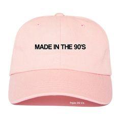 Fabriqué dans les années 90, casquette de Baseball des années 90 Cap des années…