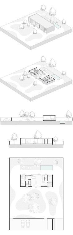 Unbelievable Modern Architecture Designs – My Life Spot Revit Architecture, Architecture Graphics, Architecture Visualization, Architecture Drawings, Architecture Portfolio, Concept Architecture, House Architecture, Planer Layout, Architecture Presentation Board