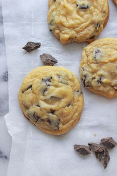 The Secret to Soft Chocolate Chip Cookies Fluffy Chocolate Chip Cookies, Chocolate Chip Recipes, Chocolate Chip Oatmeal, Jackson, Cookie Recipes, Bread Recipes, Sweets, Sweet Treats, Coconut Cookies