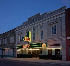 Ritz Theatre in Sheffield Alabama.