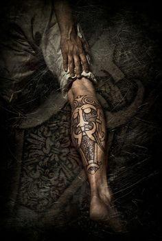 Nordic Tattoos By Peter Walrus Madsen (8)