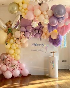 "FIZZPOPEVENTS••EventStylists on Instagram: ""When the client asks for Fairy Garden...🧚🏼 . Fairy Garden is what we deliver 😍💖 . Balloons - @amscanuk @sempertex @anagramballoons - - -…"""