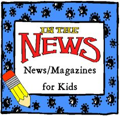 Super! 40+ online news/magazines for kids. Great current events articles, high interest for students. Many easily printed. http://livebinders.com/edit?id=31492# Variety of levels and subjects