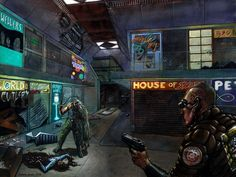 System Shock 2 concept art, another great pretty creepy game System Shock 2, Ncr Ranger, Creepy Games, Cyberpunk City, Cyberpunk 2077, Scary Art, Nerd Art, The Old Days, Bioshock