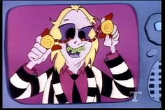 Loved the movie and cartoon. #90s #beetlejuice