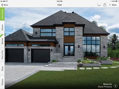 Home Design Drawings 18 Exceptional Exterior Design Ideas To Draw Inspiration From - Cottage Exterior, Dream House Exterior, Dream House Plans, Cafe Exterior, Ranch Exterior, Bungalow Exterior, Exterior Signage, Craftsman Exterior, Exterior Siding