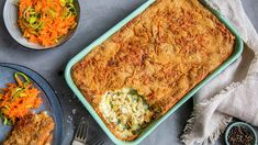 Kremet kyllingsalat | Oppskrift - MatPrat Mad, Food And Drink, Fish, Baking, Ethnic Recipes, Dinners, Lasagna, Dinner Parties, Pisces
