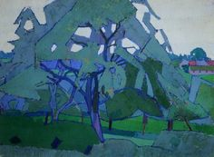 Your Paintings - Harold Gilman paintings Frank Auerbach, Watercolor Landscape, Landscape Paintings, Aberdeen Art Gallery, Francisco Goya, Great Paintings, Art Academy, Art Uk, Plein Air