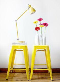 ChicDecó: Tulix yellow stools