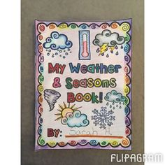 ▶ Play #flipagram Video - FIND RESOURCE HERE - https://www.teacherspayteachers.com/Product/Weather-Seasons-Book-1758709 Weather & Seasons! Adorable 24 page mini book for students K-2nd! Includes all weather types (only Sunny is featured in the video!) Enjoy! #teacherspayteachers #weather #seasons #education #teachingresources