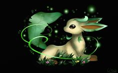 Leafeon: my fav pokemon ever! Best Pokemon Ever, Cool Pokemon, Pokemon Stuff, Pokemon Eeveelutions, Eevee Evolutions, Grass Type Pokemon, Pokemon Pocket, One With Nature, Pokemon Pictures