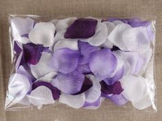 $48.93 (free shipping)- 300pc Mixed Color Rose Petals Purple,lavender,white Wedding Table Decoration Angel Isabella http://www.amazon.com/dp/B00JHQ7AFG/ref=cm_sw_r_pi_dp_D4p2tb1BBFYJ8S31