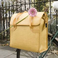 City Girl Rides: bicycle finds: lovely panniers
